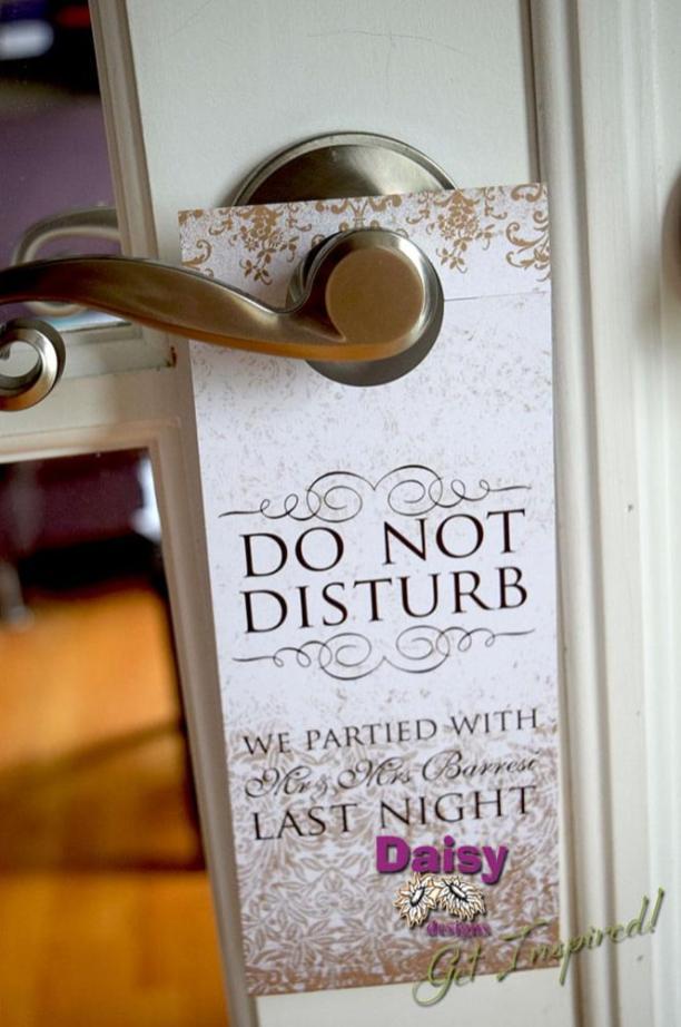 Antique Gold Door Hanger