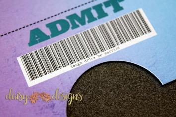 Blended Ticket closeup
