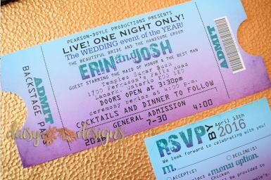 Blended Ticket Invite