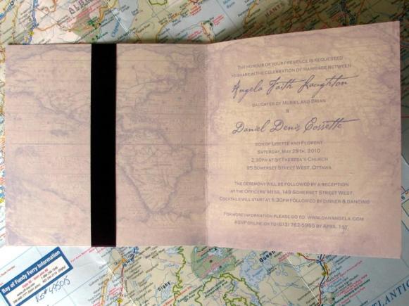 Olde World Map Inside