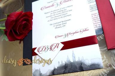 Scarlet Skyline invite