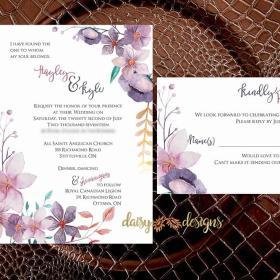 Hayley Boho Invite suite