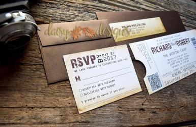 Rustic Ticket suite