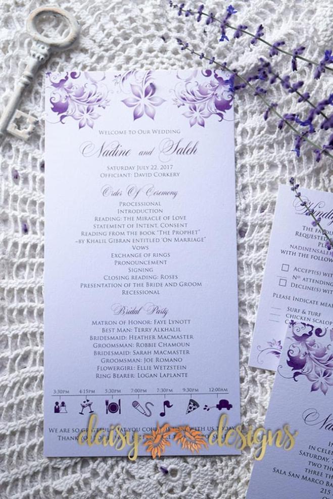 Lilac Blossoms optional program