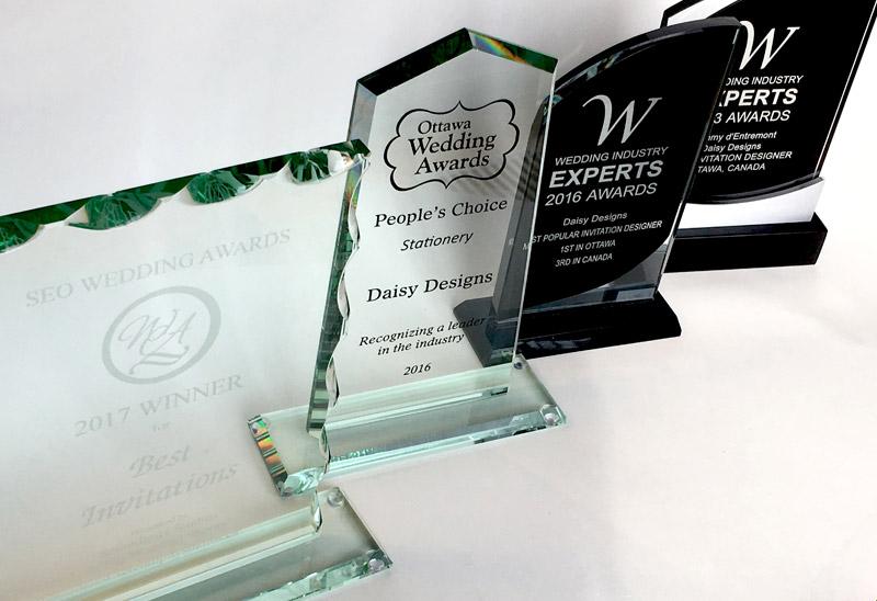 Awards won by Daisy Designs
