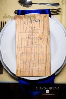 Wood and Roses menu