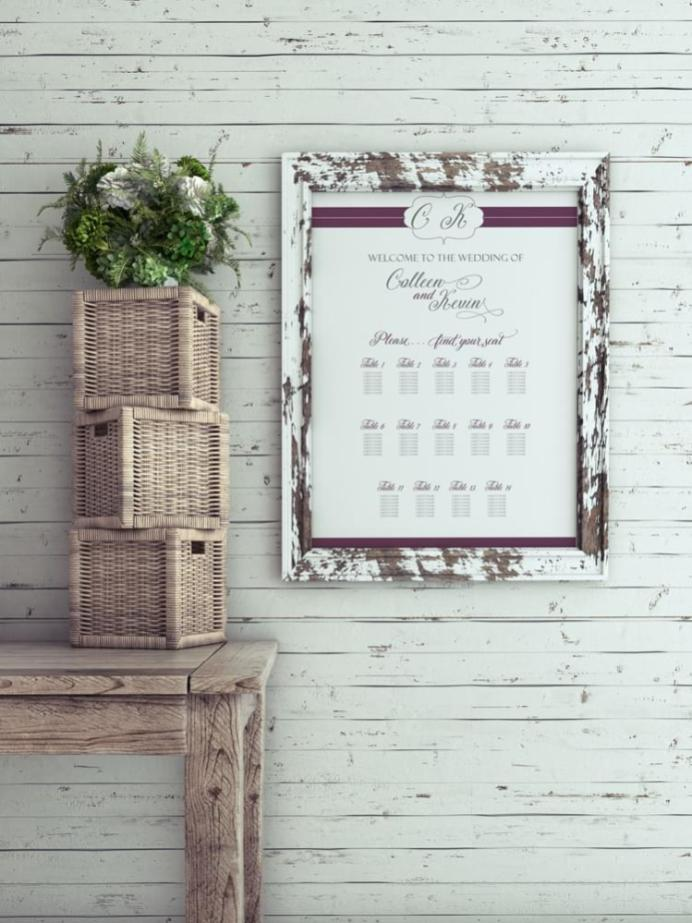 Plum Lines Seating Chart