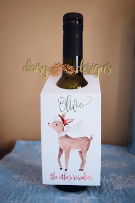 Olive oil bottle tag