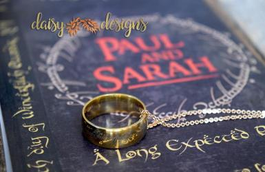 One Ring to Bind Them - Save The Date