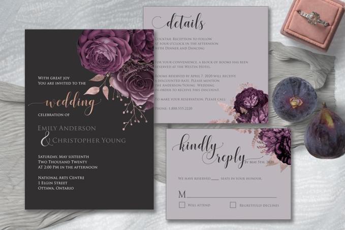 Moody Mauve Roses compilation suite