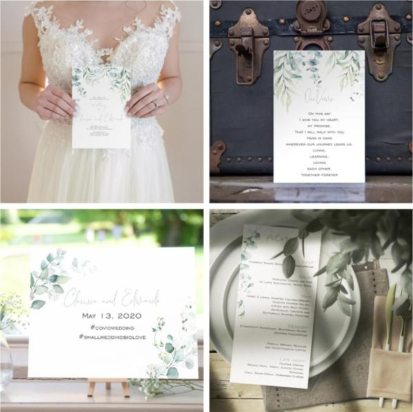 Small Wedding Package - Eucalyptus Suite