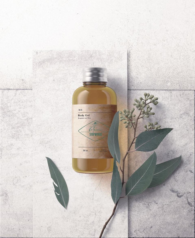 Botanic soapworks body gel product