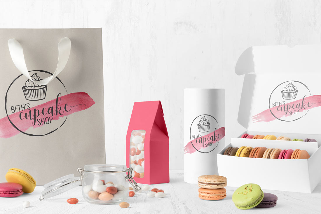 Cupcake shop products