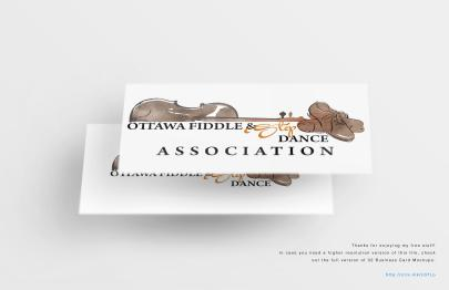 business card - Ottawa Fiddle and Dance Assoc.
