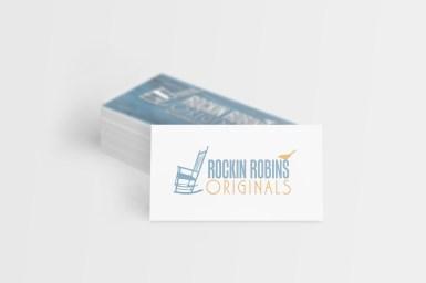 business cards - Rockin' Robins originals