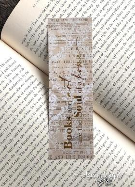 Books and Art bookmark