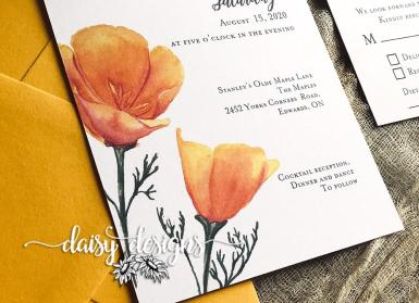 California Poppy - details