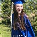 grad announcement card full colour