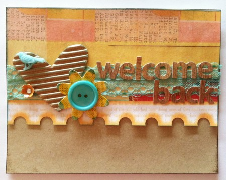Welcome Card for Susan