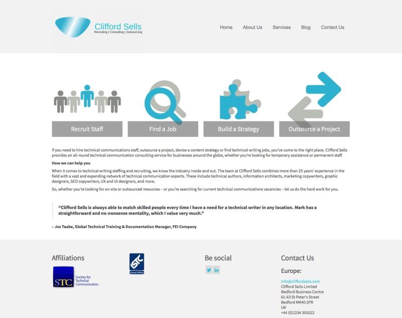 Clifford Sells Website