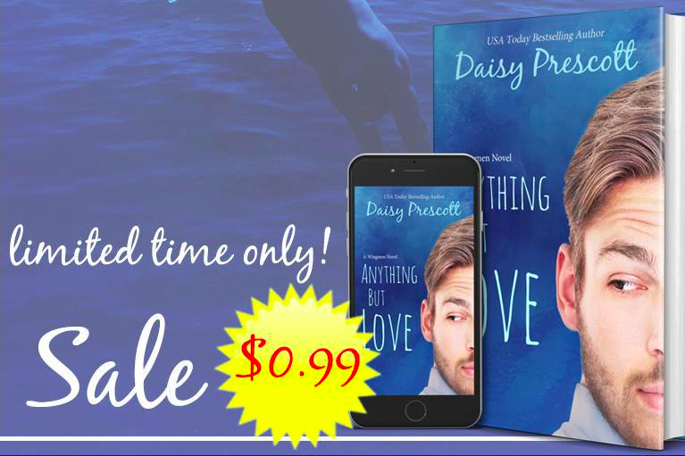 Anything but Love is 99 cents for a limited time