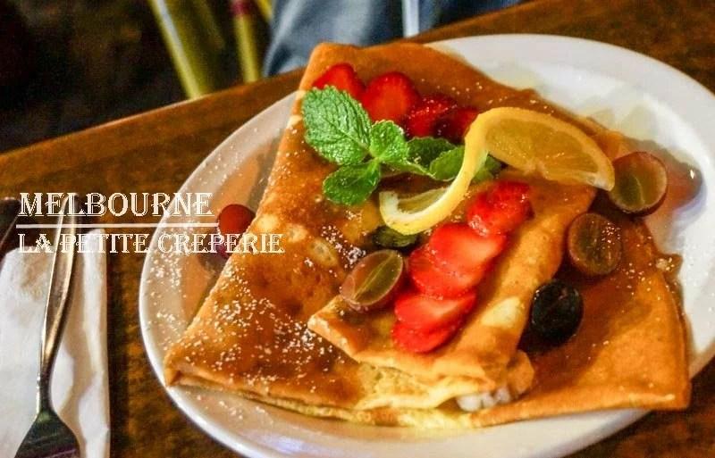 Lapetite-creperie, 墨爾本, 墨爾本美食, 法式可麗餅, 墨爾本必吃甜點, 墨爾本咖啡, 澳洲自由行, 墨爾本自由行