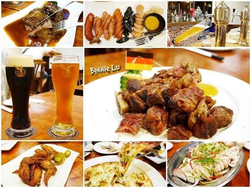 德斯啤鮮釀啤酒餐廳, 台南美食, 台南啤酒餐廳, 德國豬腳, 聚餐