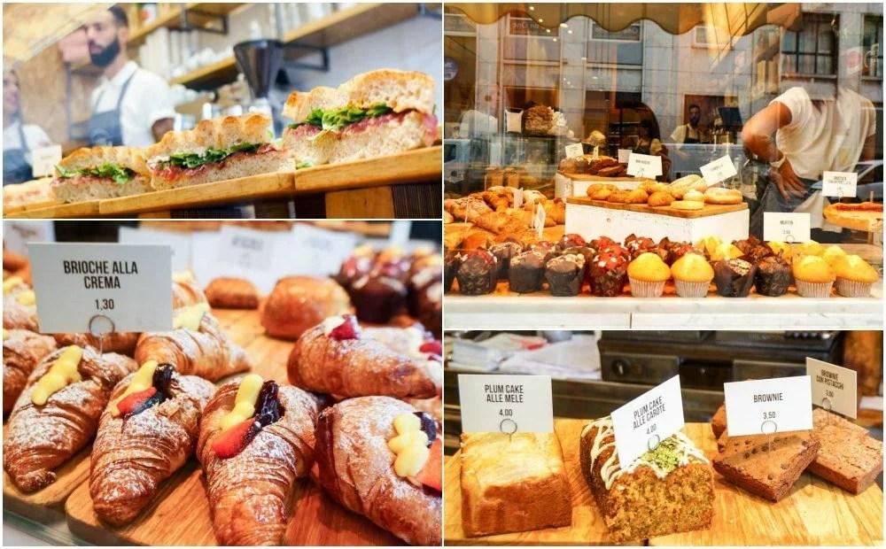 義大利米蘭, 米蘭美食, 義大利美食, 歐洲早餐, 帕尼尼, 帕里尼推薦, 義大利推薦美食, 米蘭必吃, CiaoCiao, panini-durini