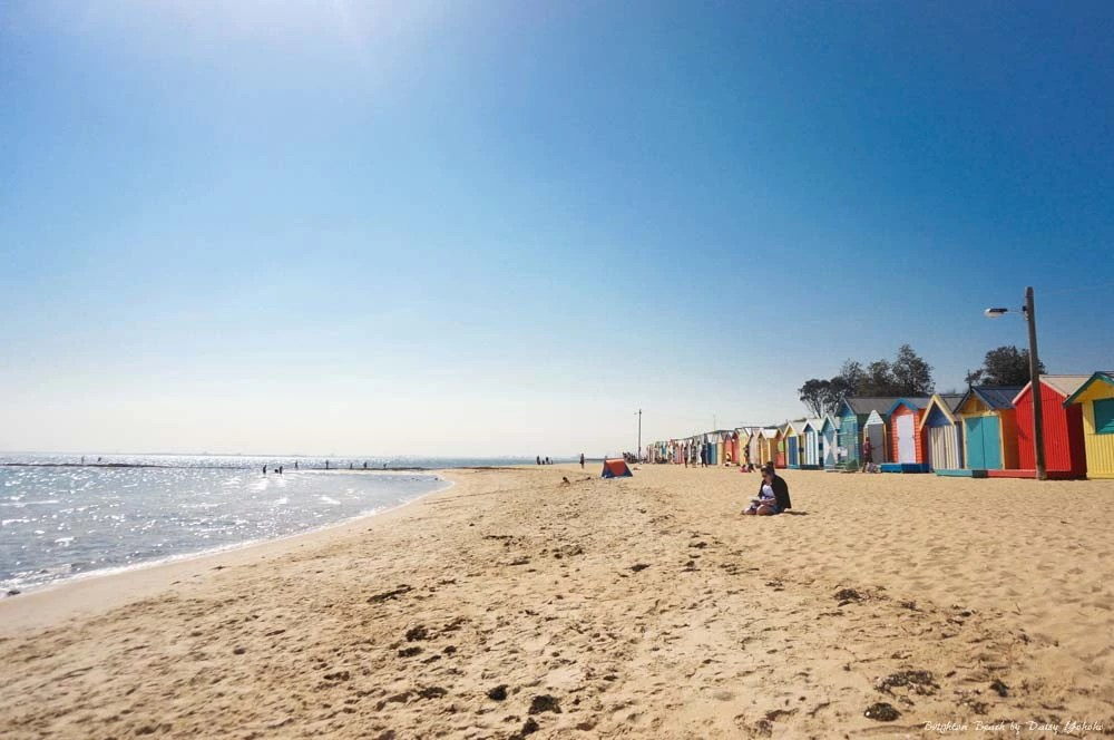 澳洲,澳洲自由行,澳洲自助,墨爾本,澳洲景點,墨爾本景點,彩虹小屋,Brighton Beach,澳洲彩虹小屋, melbourne
