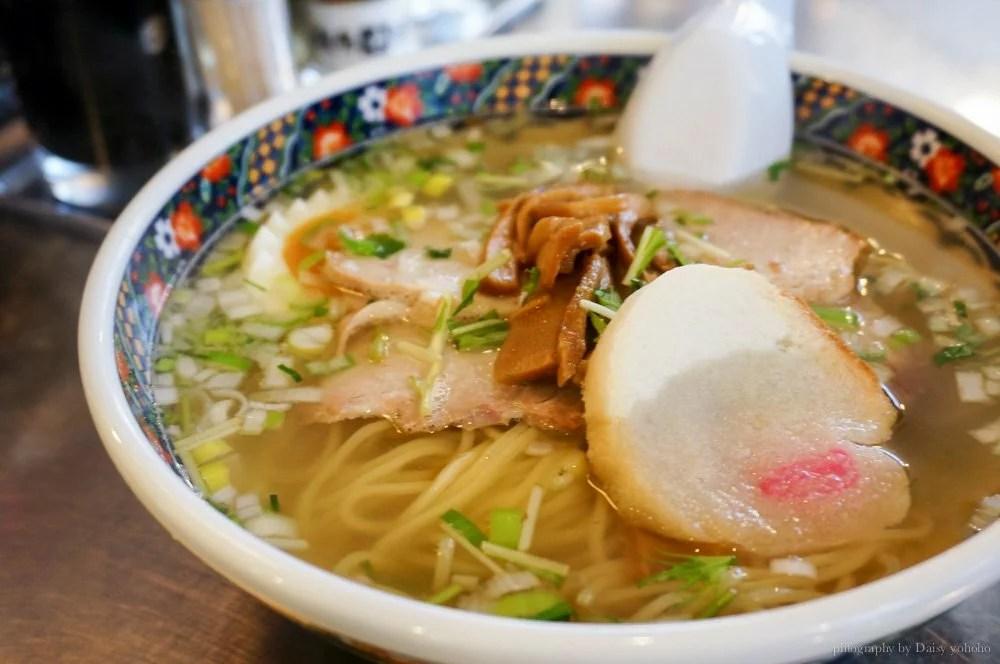 味彩拉麵, 函館美食, 北海道美食, 函館拉麵, 鹽味拉麵