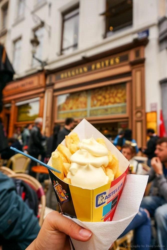 Belgian-FritN-Toast, 比利時, 歐洲, 比利時美食, 布魯塞爾, 布魯塞爾美食, 比利時首都