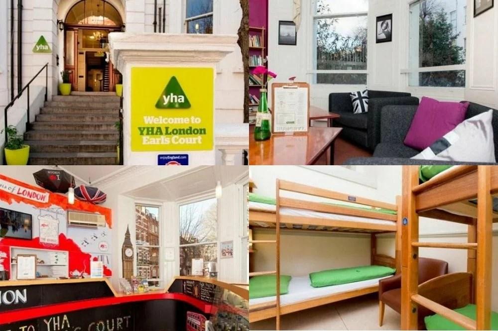 英國倫敦住宿推薦 | YHA London Earls Court(YHA倫敦伯爵府酒店)