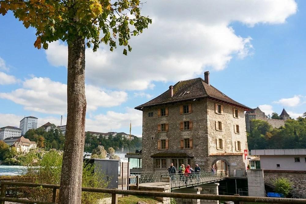 瑞士景點, 瑞士自由行, 瑞士自助旅行, 瑞士自駕, 歐洲旅遊, 萊茵大瀑布, 瑞士景點推薦, 勞芬城堡