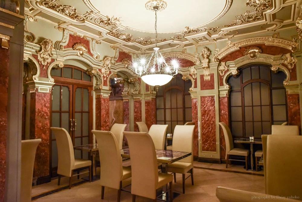 new york cafe, 紐約咖啡館, 布達佩斯, 匈牙利, 世界最美咖啡館, 紅雀, 電影場景