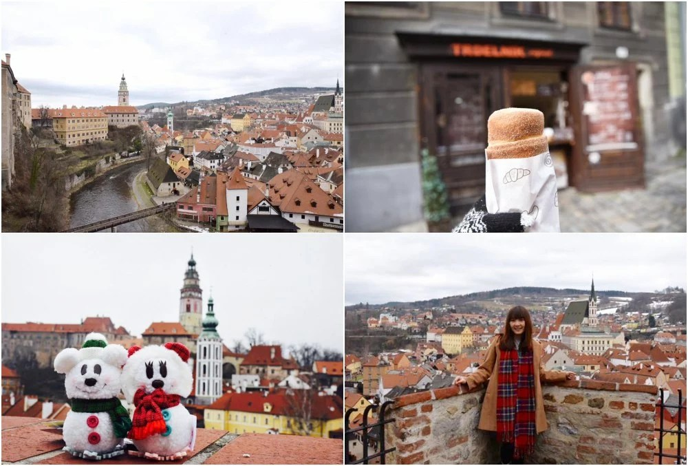CK小鎮, 庫倫洛夫, 布拉格自助, 布拉格自由行, 彩繪塔