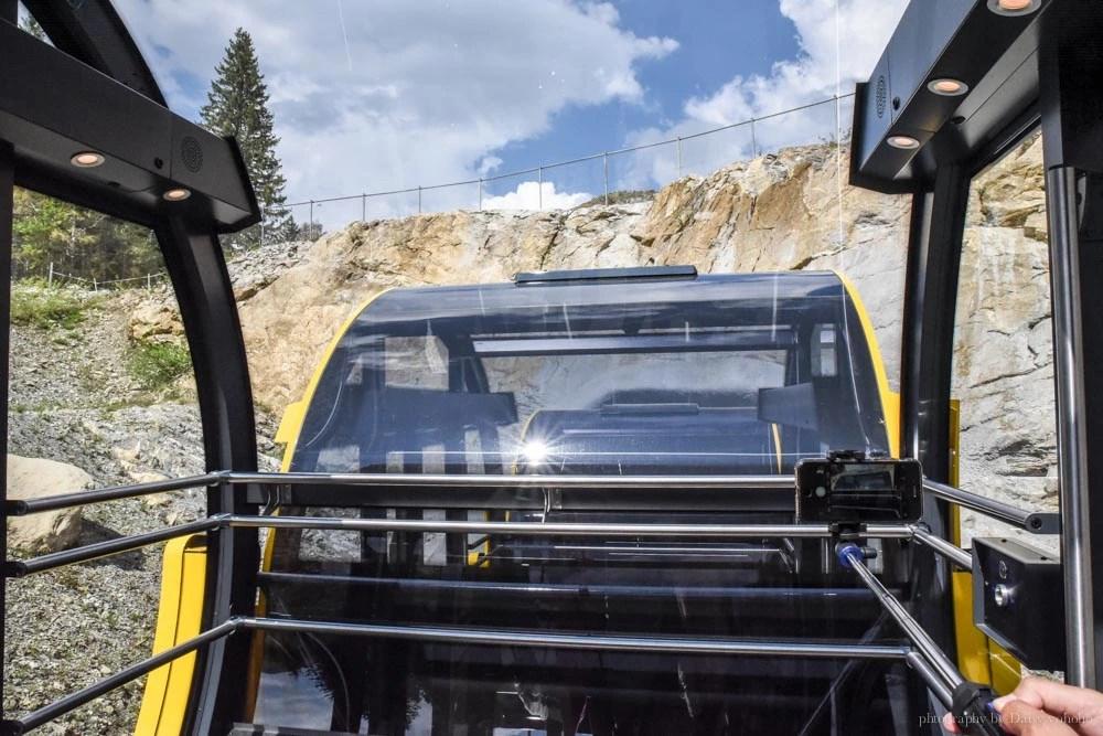 Stoos登山纜車, Stoos倉鼠型纜車, 世界最斜纜車, 世界最陡纜車, 瑞士纜車, 瑞士自助, 瑞士自由行, Schwyz, Stoos 交通, Swiss Pass, 瑞士火車通行證, Swiss Travel Pass, 半價卡, 瑞士免費纜車