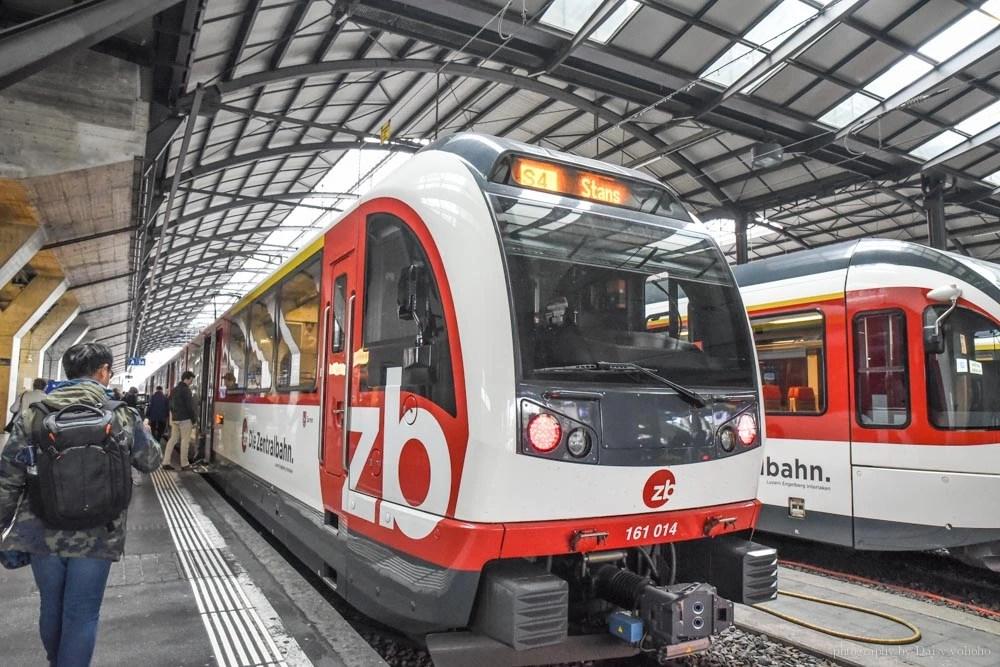 stanserhorn, 瑞士火車, 石丹峰, Stans, 琉森, 復古火車, 敞篷纜車, 瑞士自由行, 火車兒童車廂