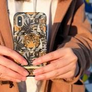 richmondfinch, 歐美時尚, 歐美手機殼, 瑞典設計手機殼, 千鳥格紋, 氣質手機殼, 時尚手機殼, iphone 手機殼, 叢林虎