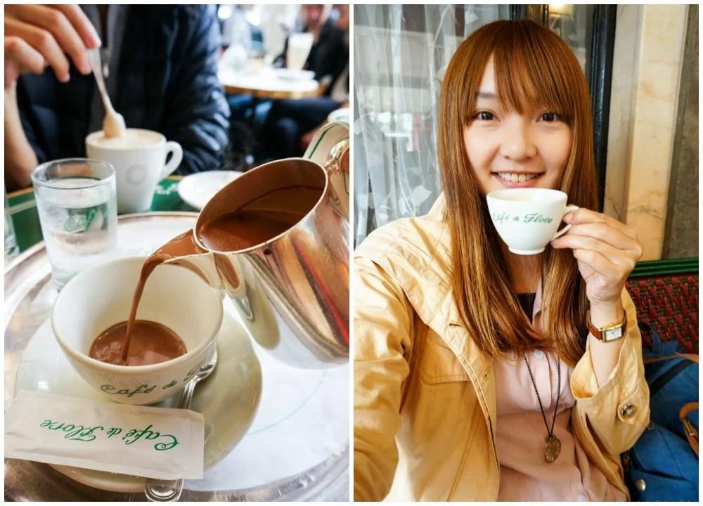 花神咖啡館, Cafe de Flore, 左岸咖啡館, 巴黎咖啡館館, 巴黎美食, 巴黎下午茶