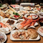 櫻料理, the sakura buffet, 札幌美食, 札幌吃到飽, 北海道吃到飽, 鱈場蟹吃到飽, 帝王蟹吃到飽, 螃蟹吃到飽