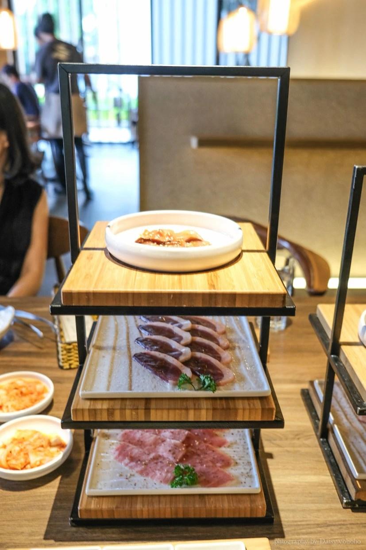 茶六燒肉, 台中燒肉, 輕井澤品牌, 極黑和牛, 牛舌