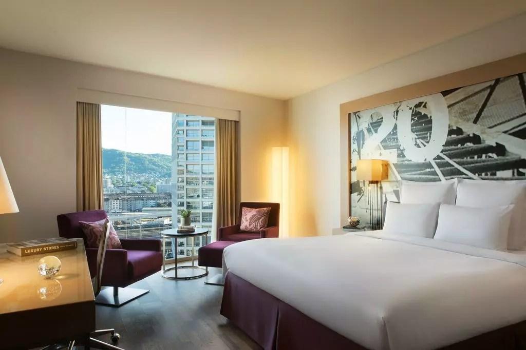 Renaissance Zurich Tower Hotel, 蘇黎世大廈萬麗酒店, 蘇黎世住宿, 蘇黎世火車站, 蘇黎世平價住宿, 瑞士平價住宿