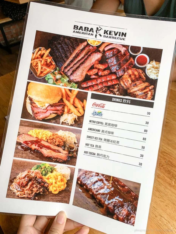 爸爸Kevin美食BBQ, Barbecue, 美式烤肉, 灌木牛胸肉, 豬頸肉, 行天宮站美食
