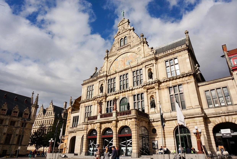 皇家荷蘭劇院, NTGent, 根特一日遊, 比利時根特, 根特自由行, 根特自助旅行, 根特景點, 比利時旅遊, 比利時自助