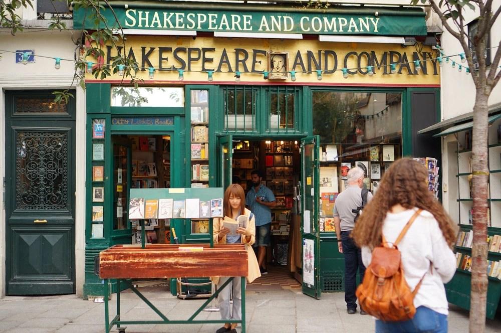 Shakespeare & Company, 莎士比亞書店, 左岸景點, 巴黎景點, 巴黎自由行, 法國自助