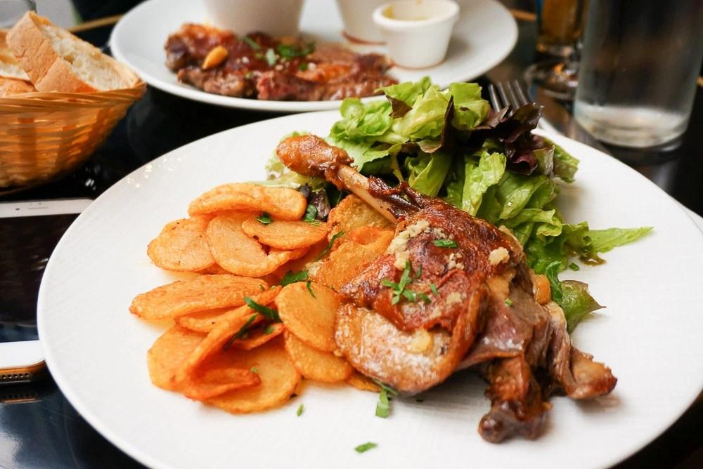 Au Vieux Colombier, 巴黎美食, 巴黎油封鴨, 巴黎餐館, 法式料理, 巴黎牛排