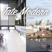 Tate morden, 泰特美術館, 倫敦景點, 英國倫敦自由行, 倫敦觀景台