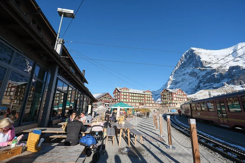 Bergrestaurant Kleine Scheidegg, 小夏戴克美食, 少女峰餐廳, 小夏戴客餐廳, 少女峰區美食, 瑞士美食