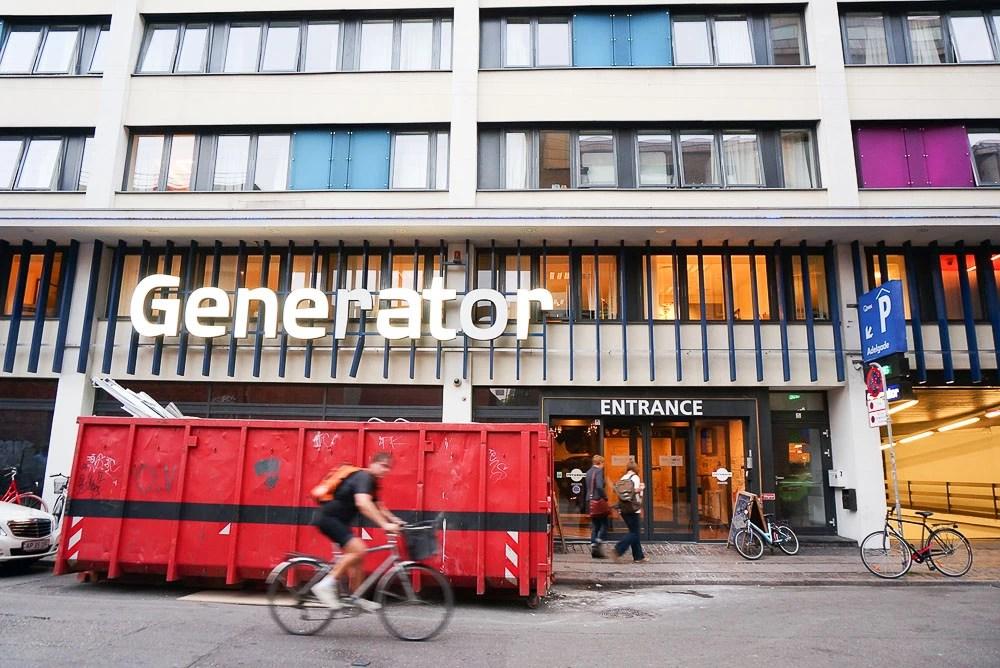 generator hostel copenhagen, 發電機青旅, 哥本哈根住宿, 哥本哈根青旅, 背包住宿