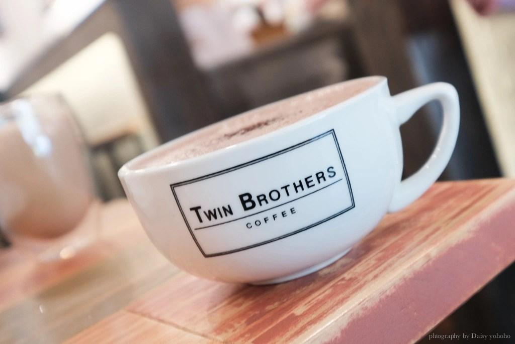 Twin Brothers Coffee, 雙胞胎咖啡, 肉桂捲, Twin Brothers 外送, 華陰街咖啡, 北車咖啡廳, 北車早餐店